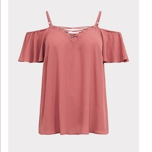Torrid cold shoulder top